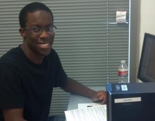 Austin Enenmoh, Undergraduate Researcher