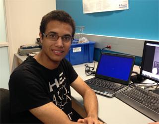 Devin Wehle, Undergraduate Researcher