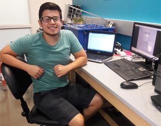 Carlos Giovanni Orozco, Undergraduate Researcher