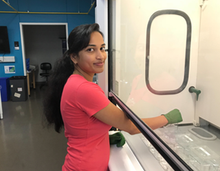 Sirisha Dhavala, Research Engineering/Science Associate