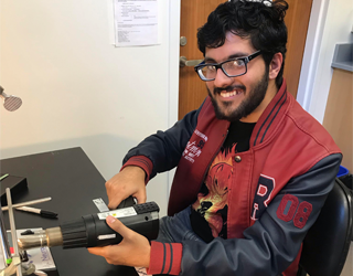 Uzair Saleem, Undergraduate Researcher