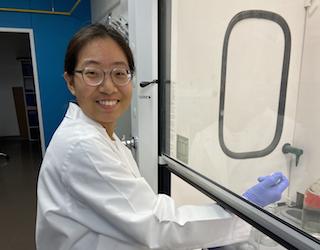 Sohmee Kim, Undergraduate Researcher